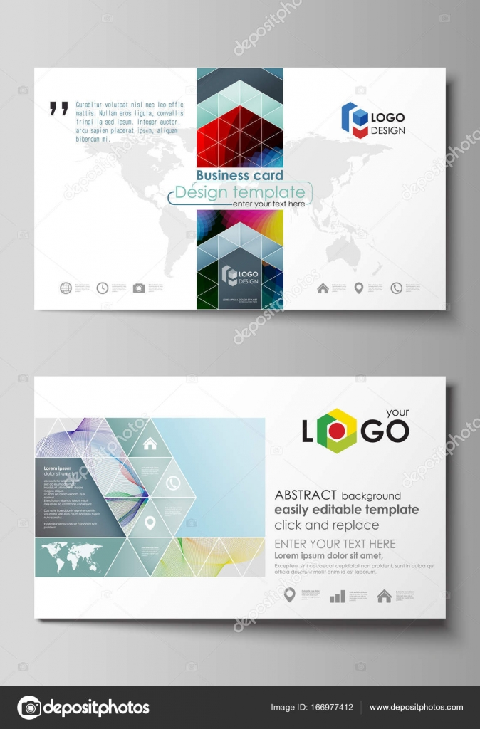 Business card templates easy editable layout flat style template business card templates easy editable layout abstract flat design template vector illustration colorful design with overlapping geometric shapes and cheaphphosting Image collections