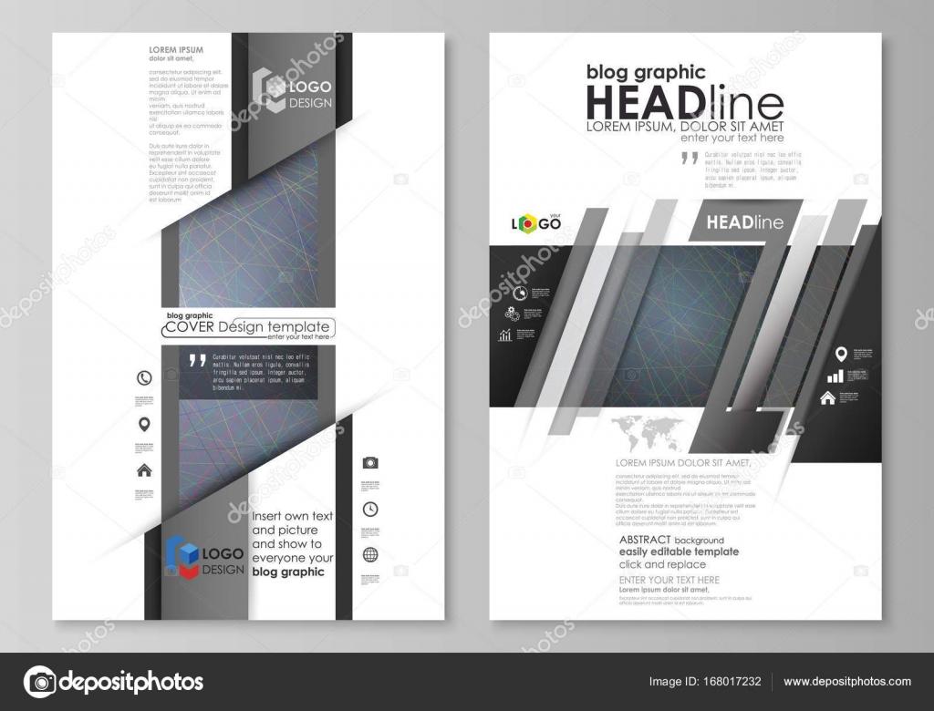 Blog plantillas de gráficos de negocios. Plantilla de diseño de ...