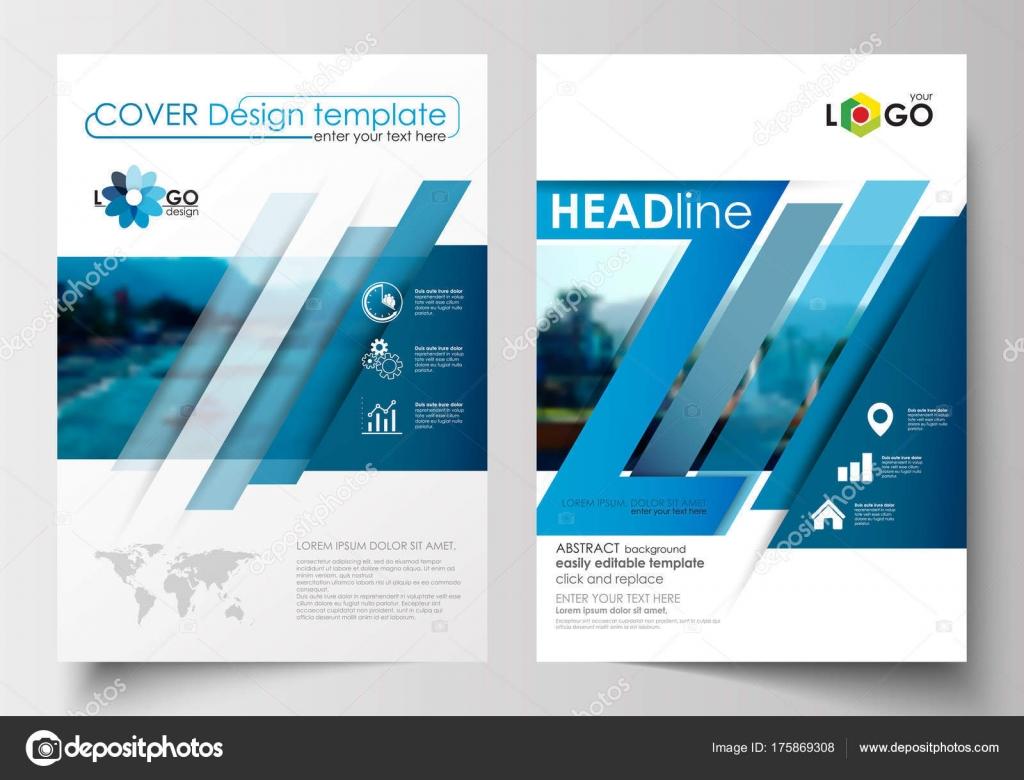 Business-Vorlagen für Broschüre, Flyer, Broschüre, Magazin ...
