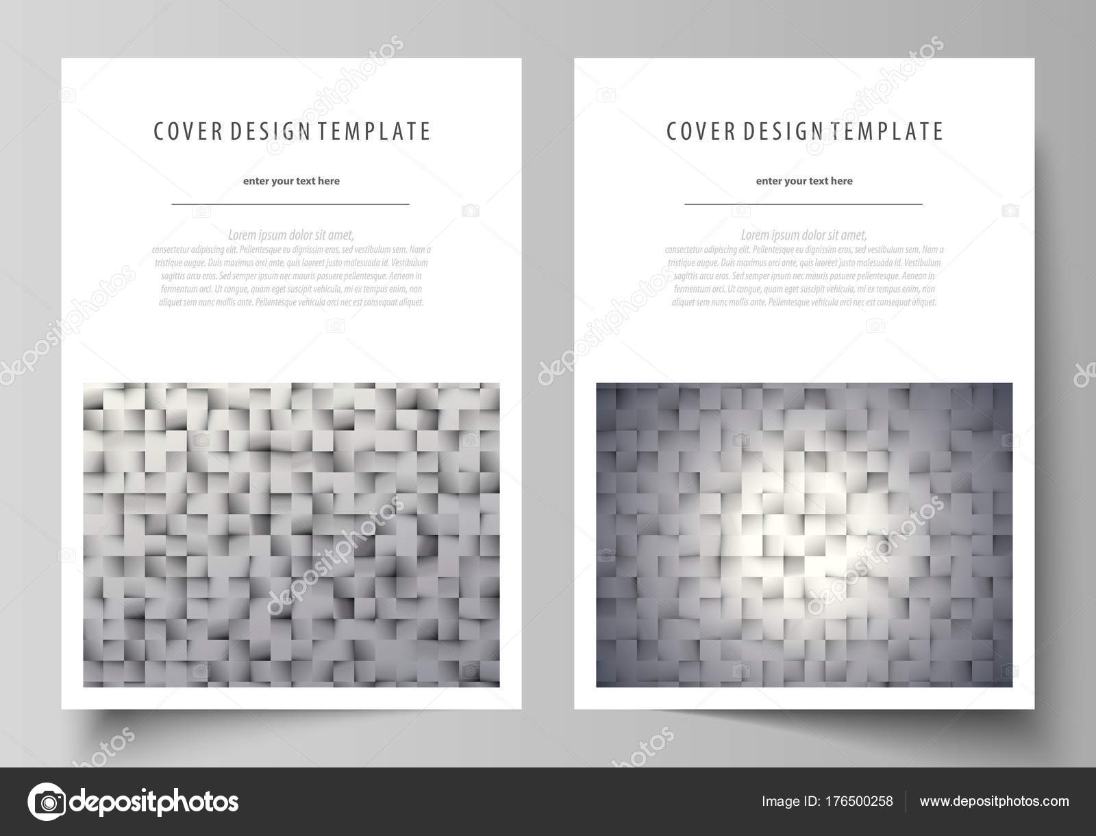 Business templates for brochure, magazine, flyer, report. Cover ...