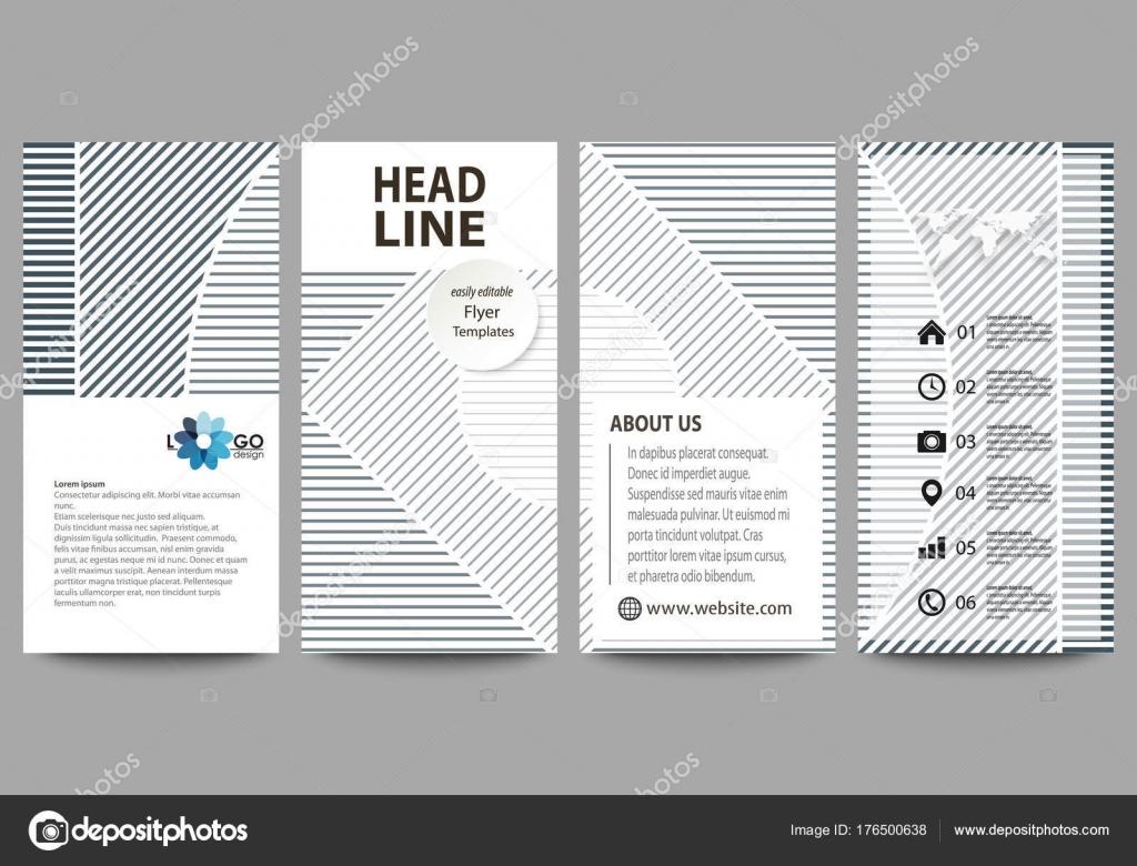 Flyer-Set, moderne Banner. Business-Templates. Design-Vorlage ...