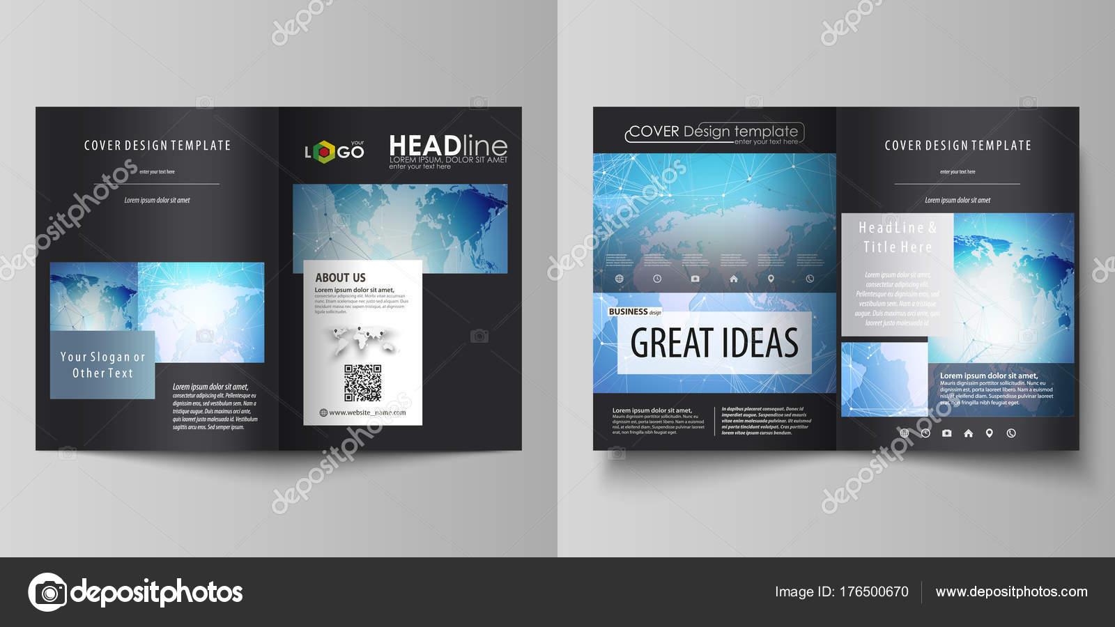 Die Schwarze Farbige Vektorgrafik Editierbare Layouts Von Zwei Din