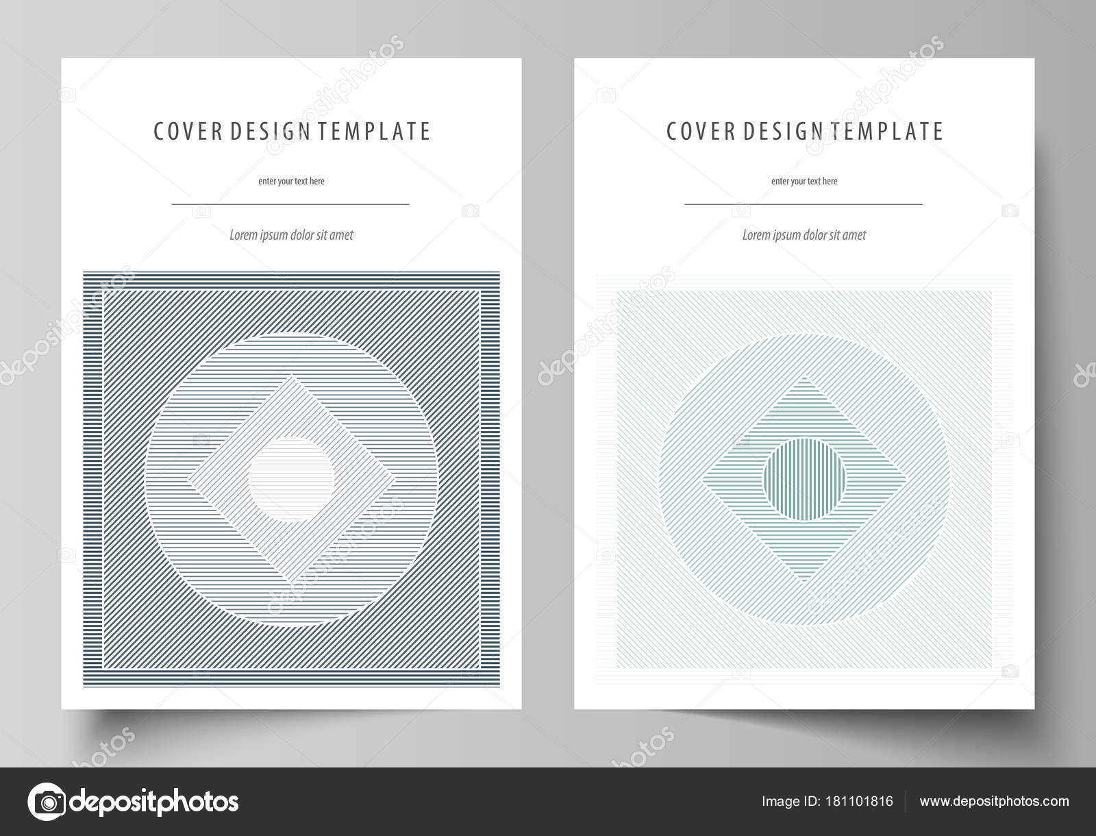 Business templates for brochure, flyer, report. Cover design ...