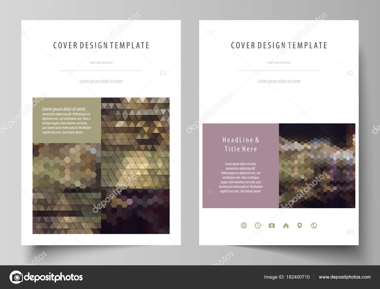 Modelos de negocio para folleto, revista, folleto, informe anual ...
