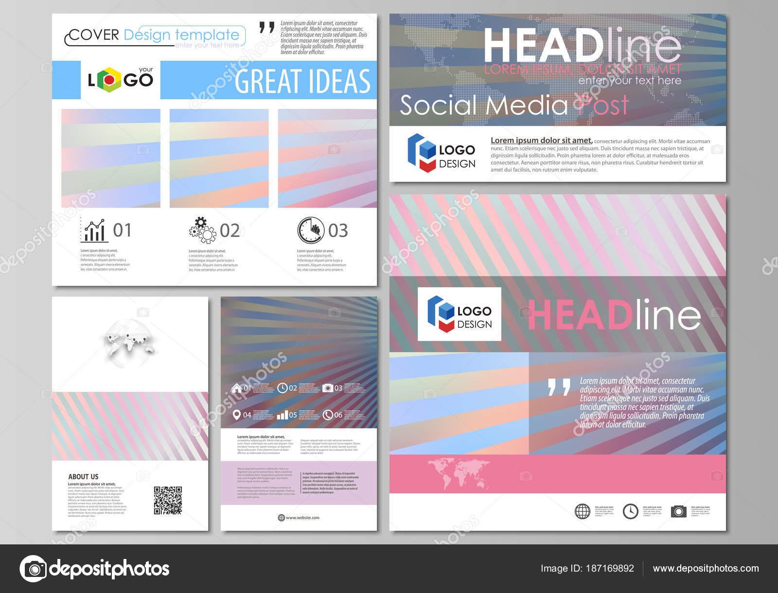 Social-Media-Beiträge eingestellt. Business-Templates. Einfach ...