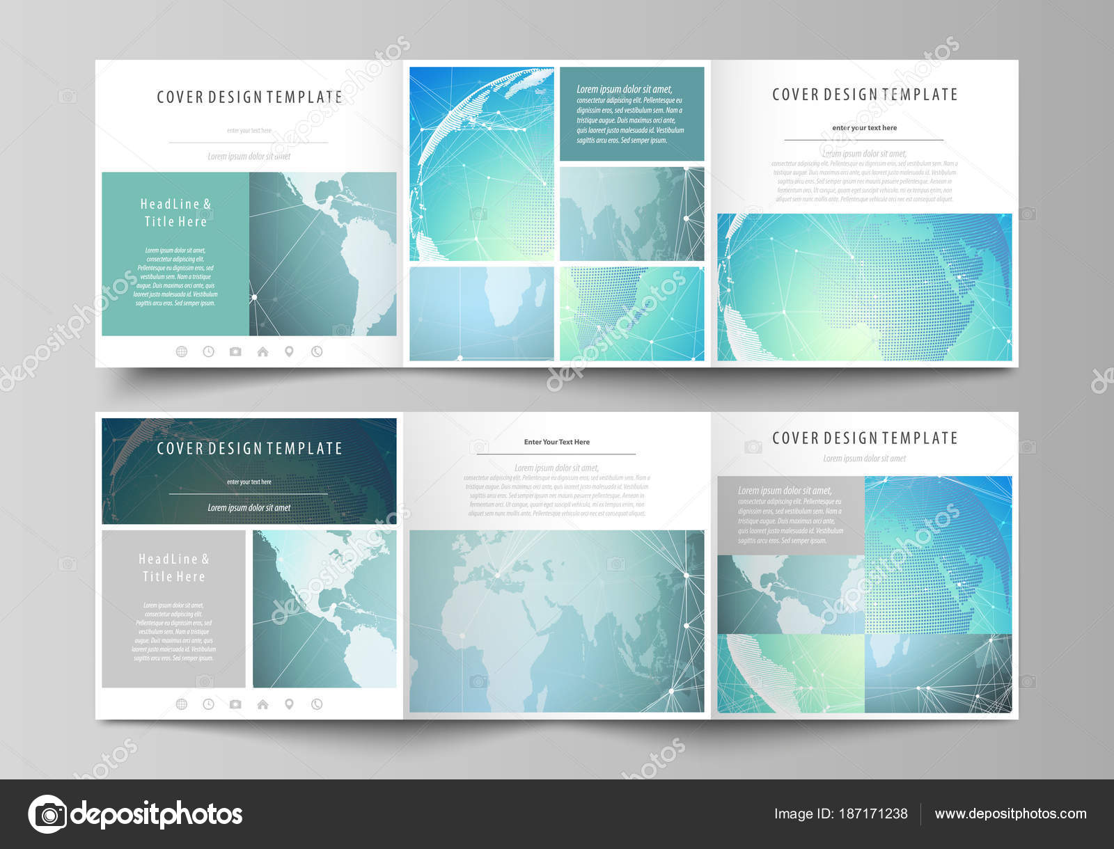 La ilustración vectorial minimalista abstracto del diseño editable ...