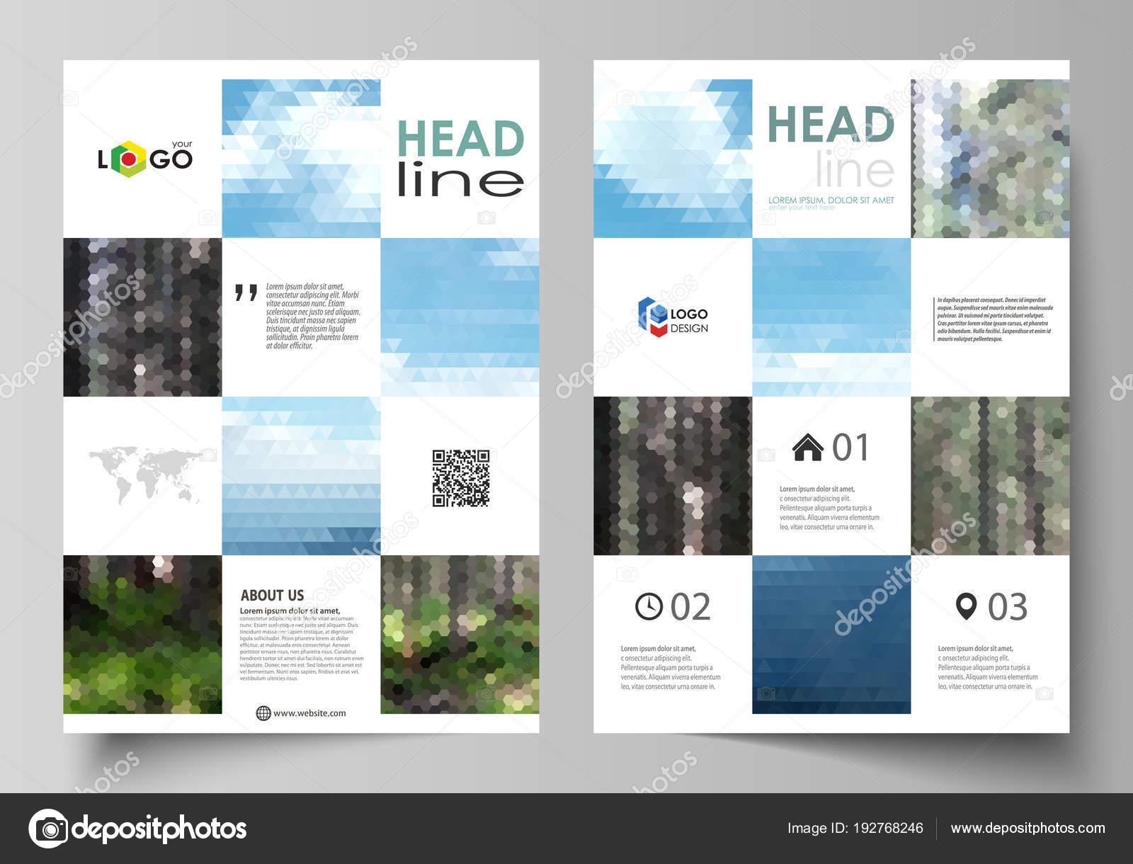 Vorlagen für Broschüre, Magazin, Flyer, Broschüre oder den ...