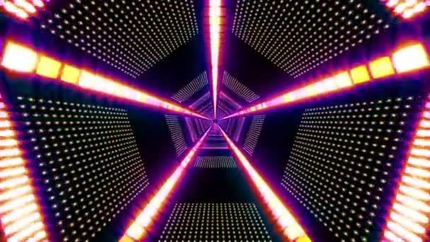 Tunnel di luce pentagonale