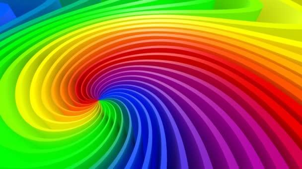3D pozadí barevná spirála