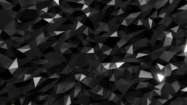 polygonální tmavé pozadí