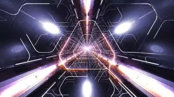 VJ Loop Triangle Tunnel