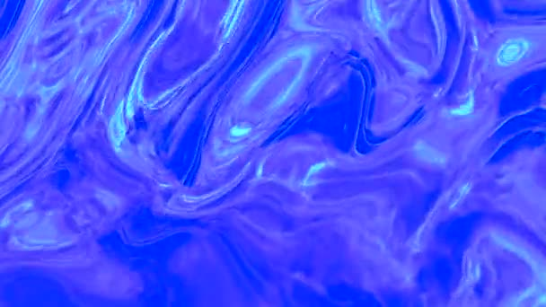 Background blue animations are fluid and liquid glass.
