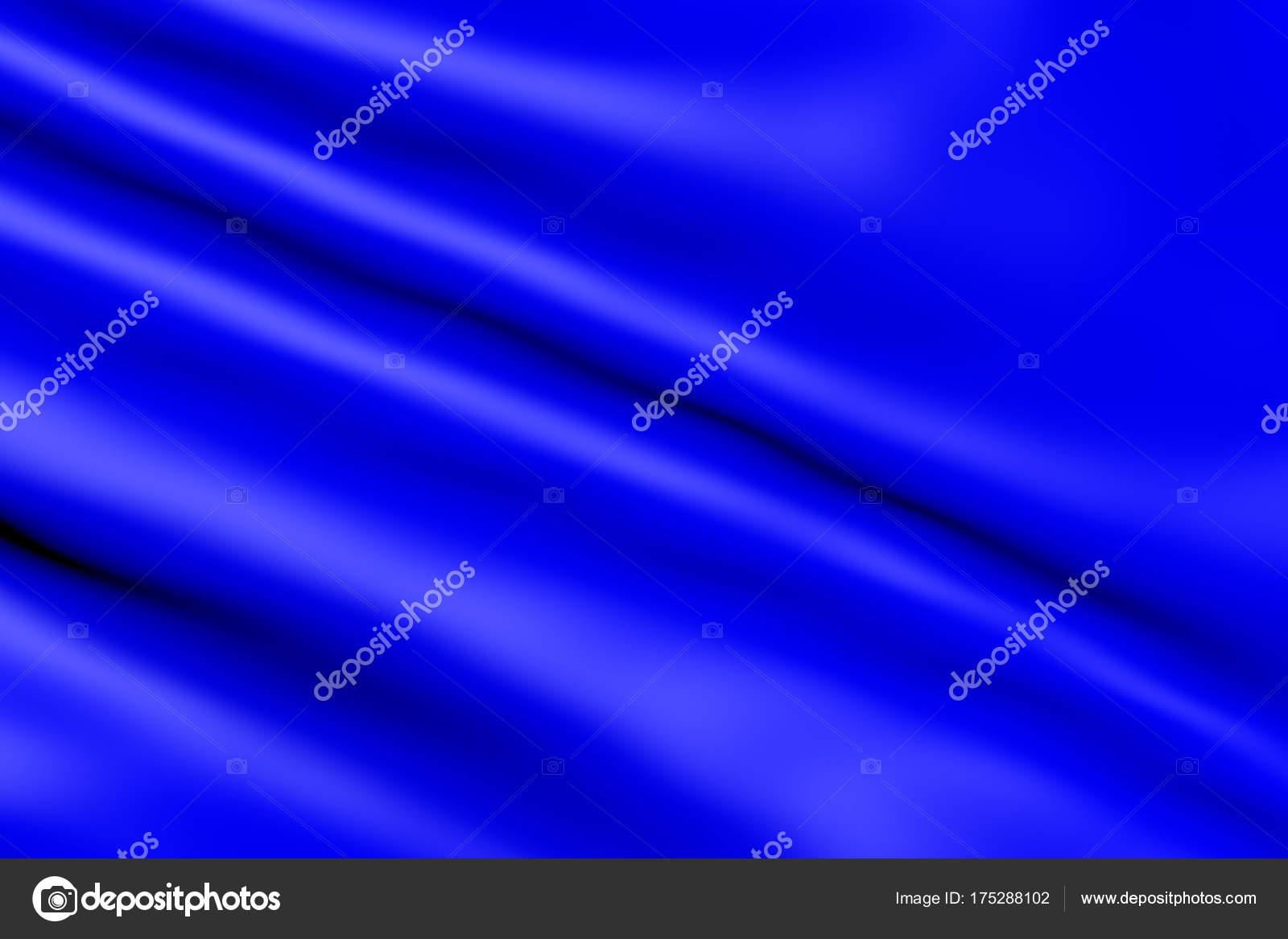 Cor Azul Marinho Brilhante Ondulado Têxteis Resumo Cetim Animado Movimento  — Fotografia de Stock 2b7978954c207