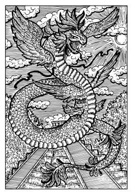 Quetzalcoatl Feathered Serpent