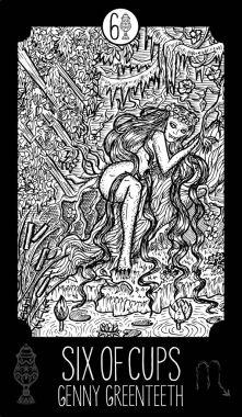 Genny Greenteeth, river hag