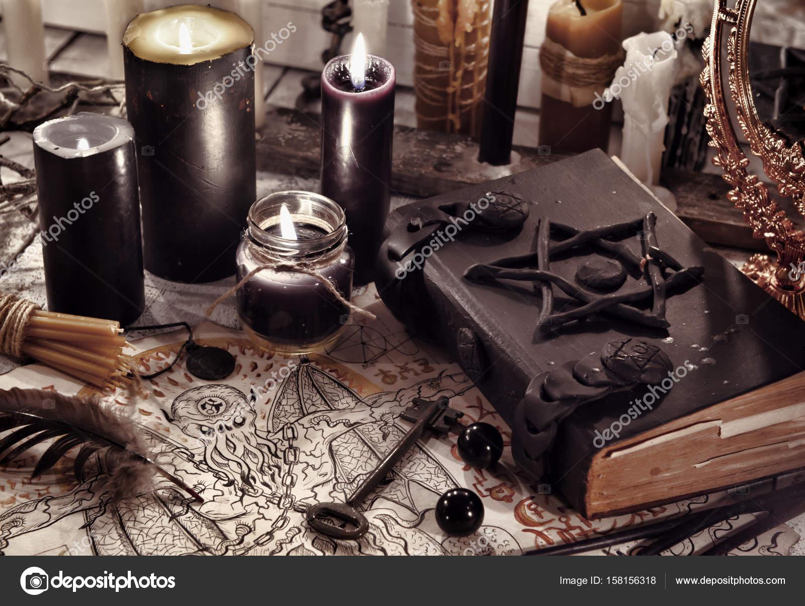 Как сделать черную свечу магия фото 947