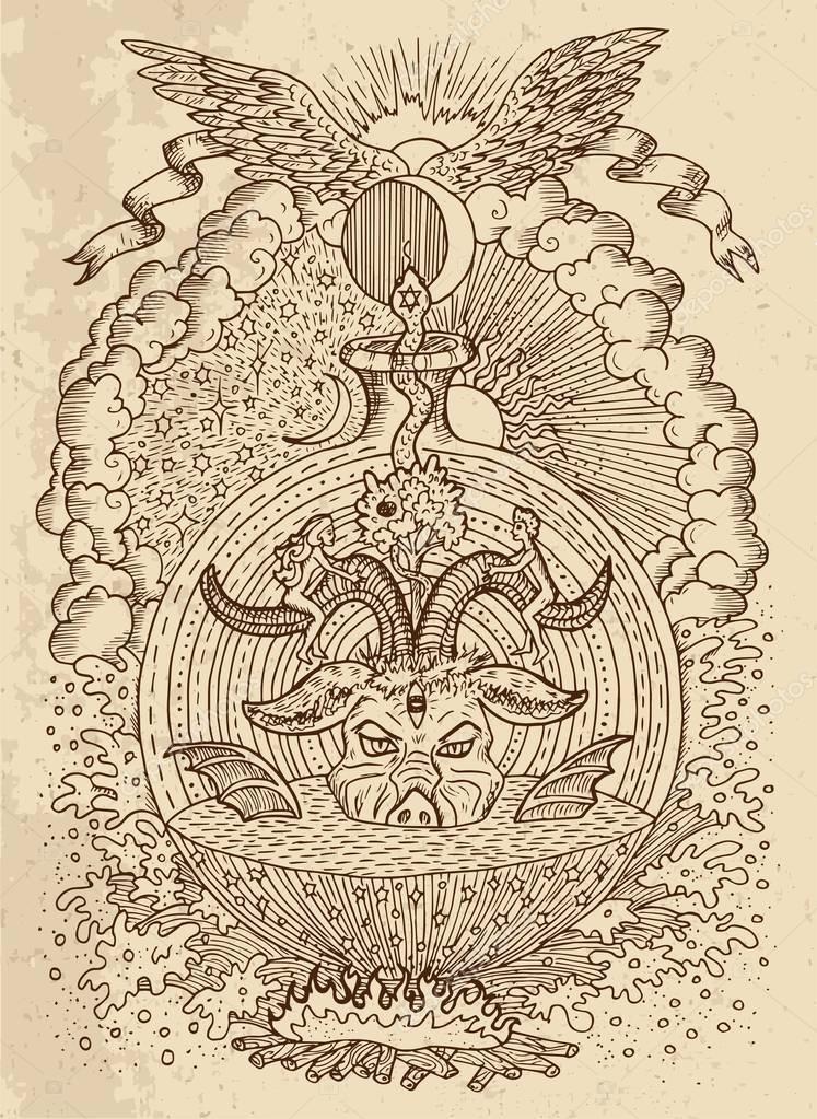 Wiccan aus einem christlichen