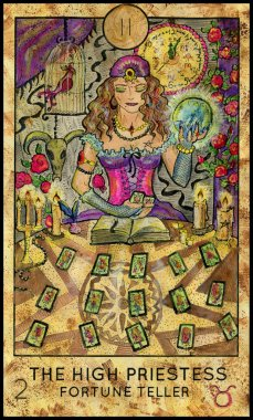 High Priestess. Fortune Teller.
