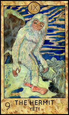 Hermit. Yeti or Bigfoot.