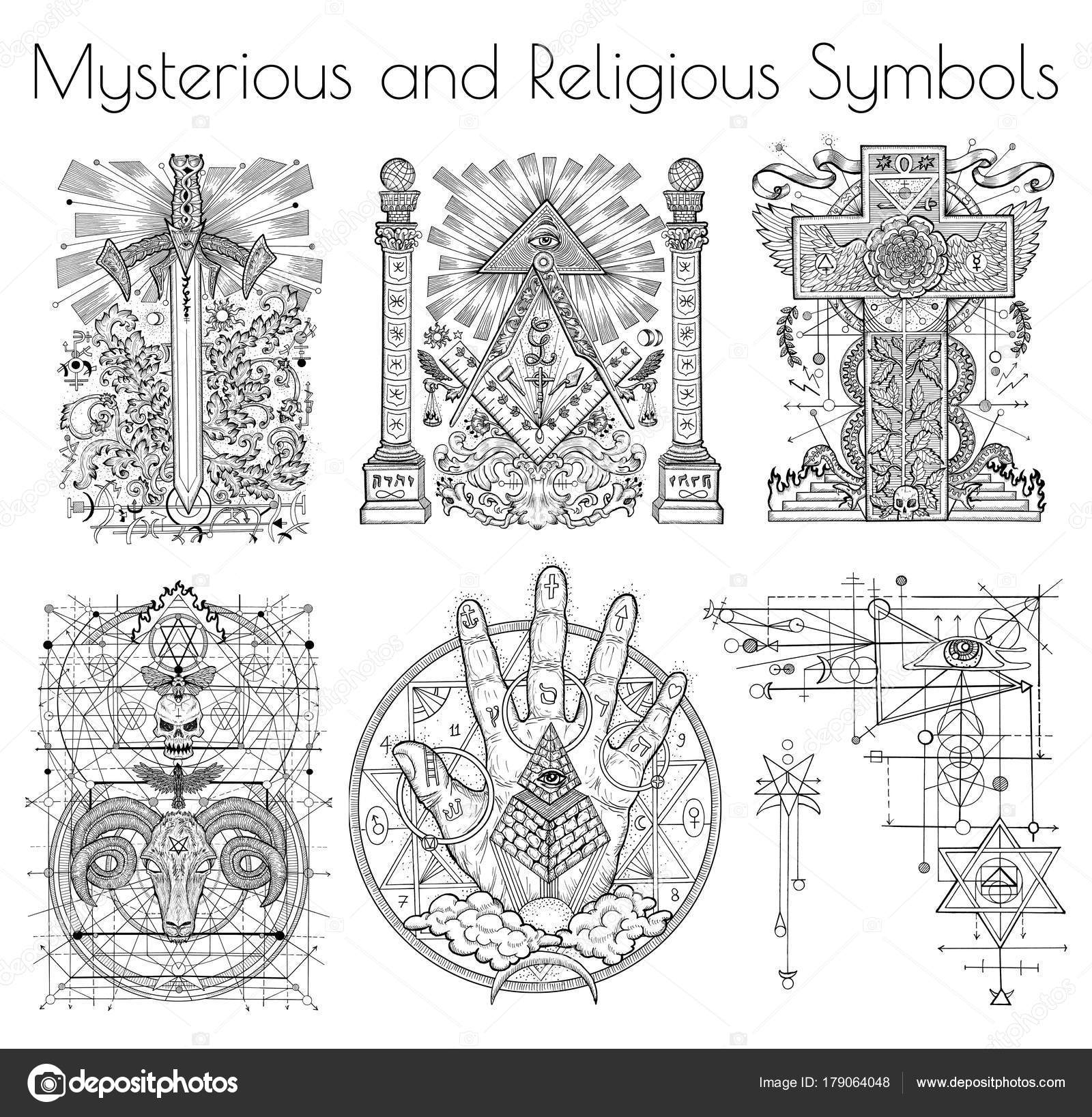 Design Collection Graphic Illustration Mystic Religious
