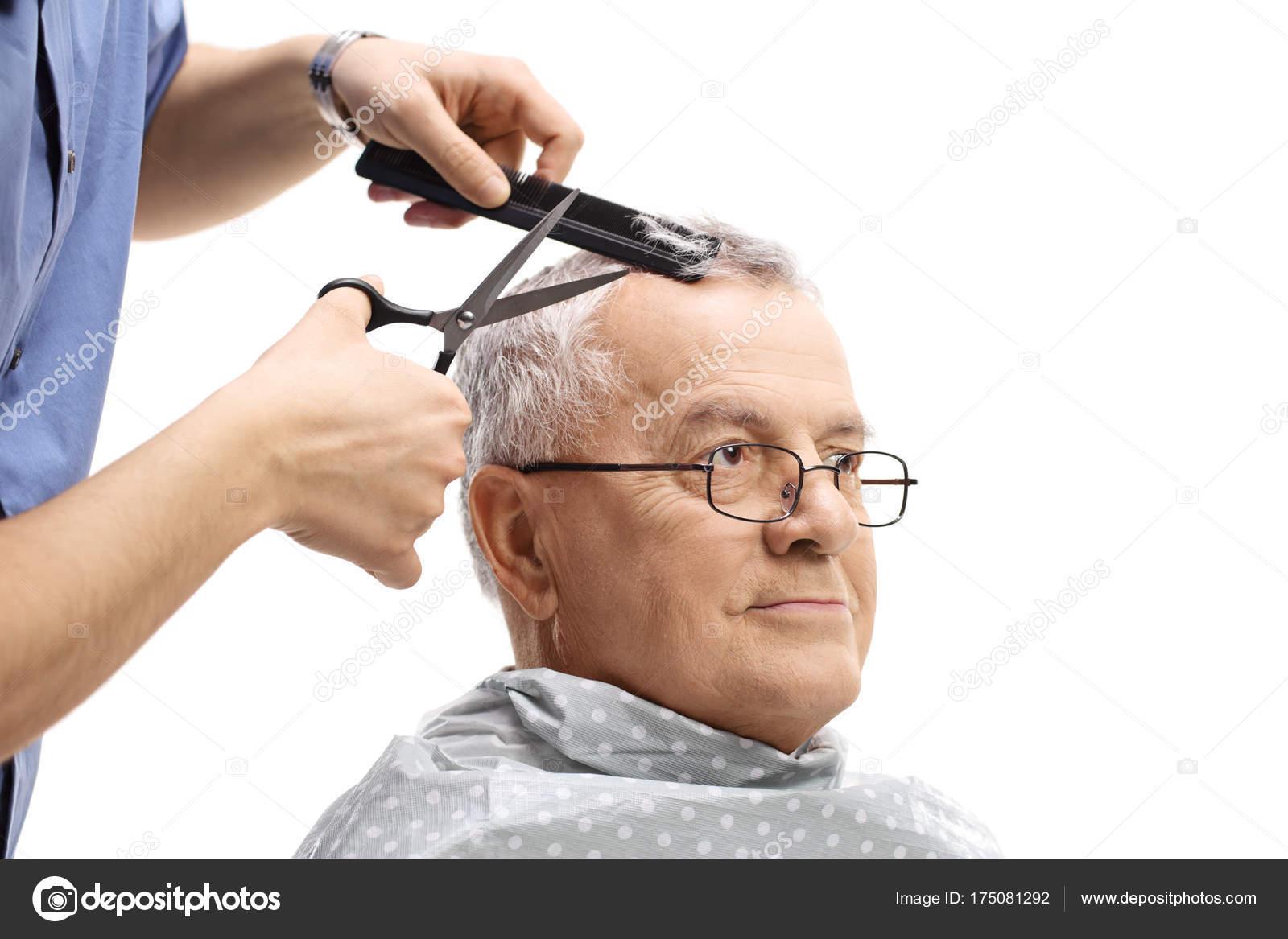 Coupe cheveux homme age mur
