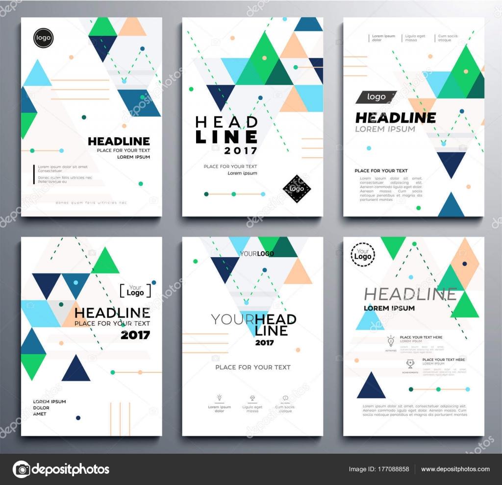 Präsentation-Broschüre-Cover - Vektor Vorlage a4-Seiten ...