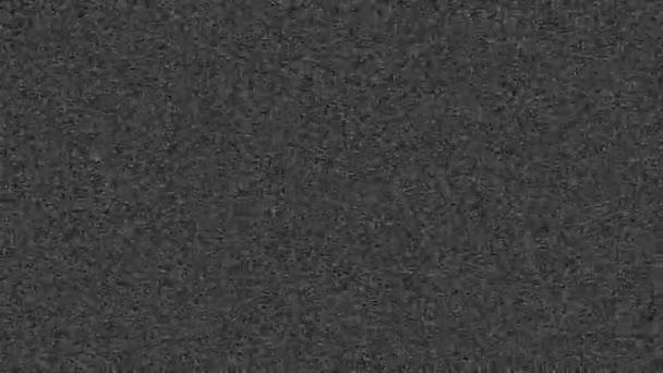 Statischer Rauscheffekt bei Schwarz-Weiß-Fernsehern.