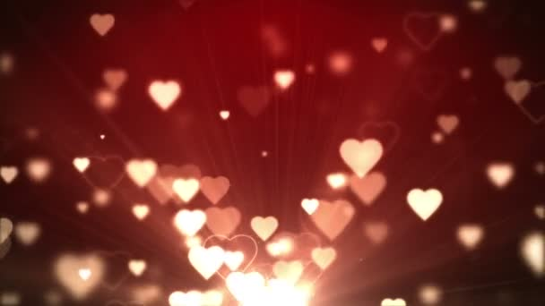 Love forever with flying hearts