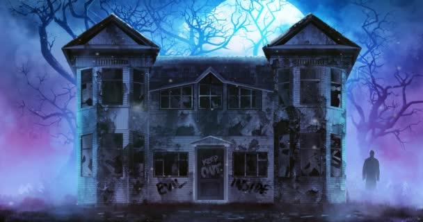 Strašidelný horor dům video.
