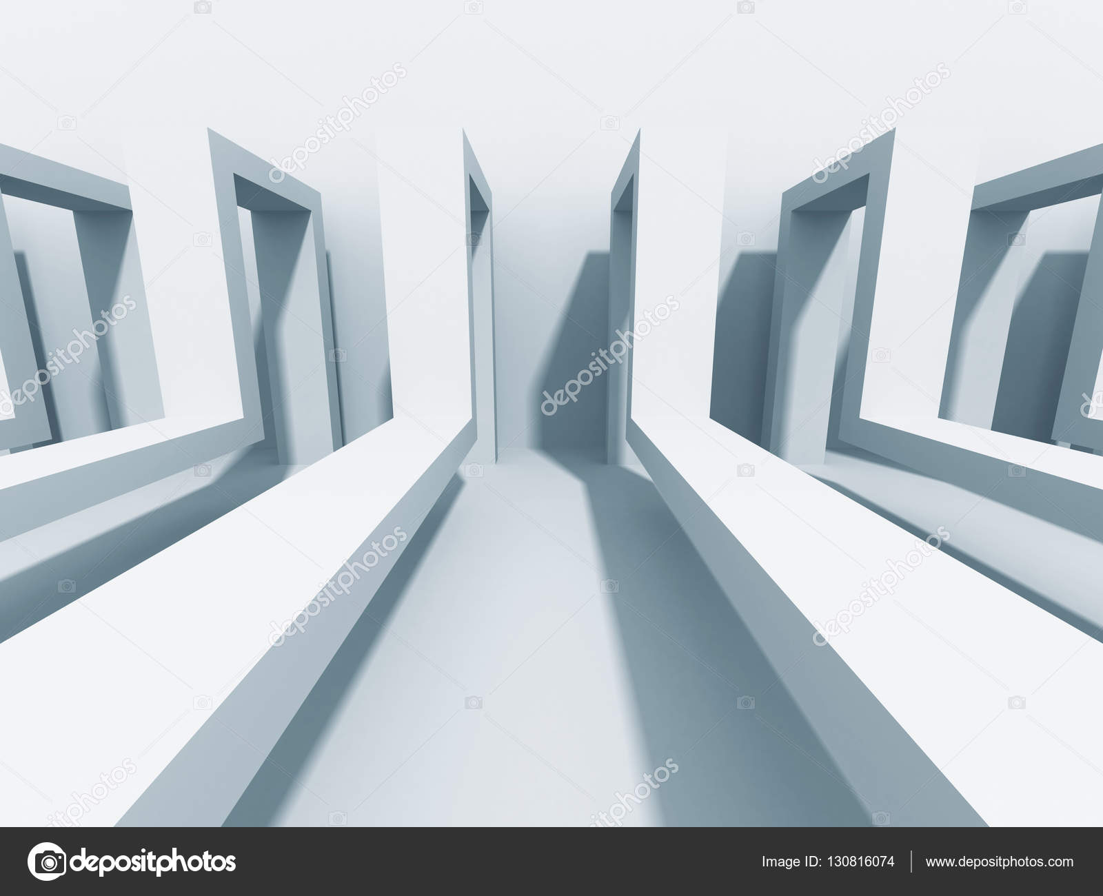 Abstrakt Architektur Hintergrund Moderne Konstruktion Wallpaper 3D Render Illustration Foto Von VERSUSstudio
