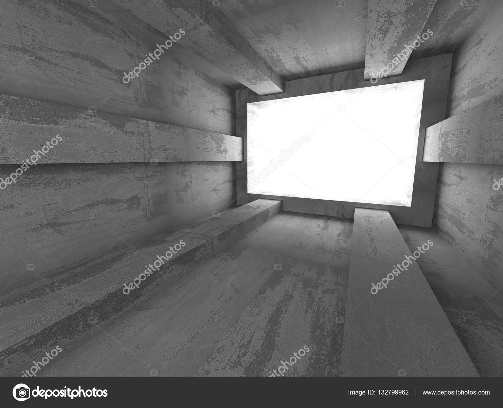 Beton In Interieur : Béton intérieur futuriste u2014 photographie versusstudio © #132799962