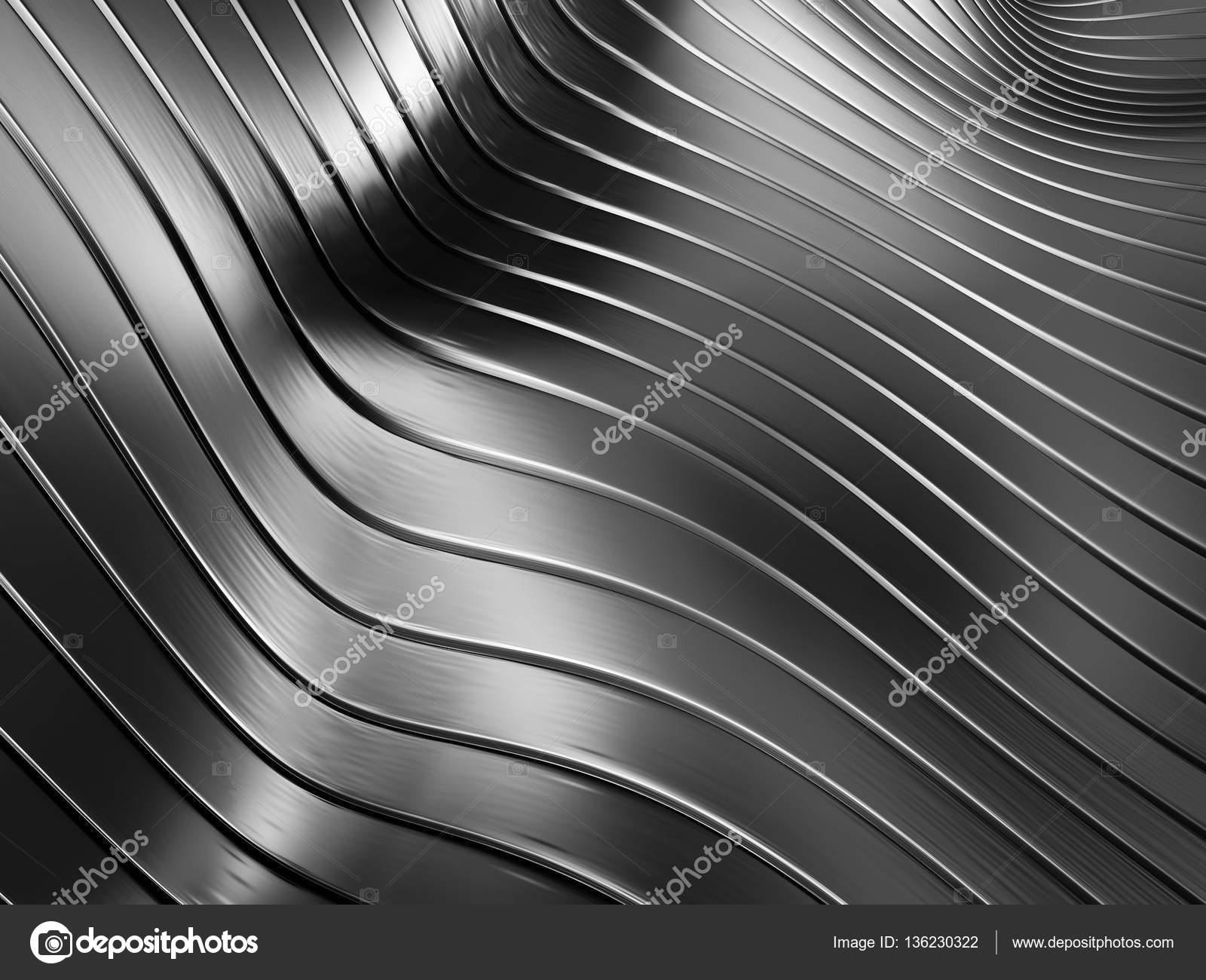 elegant black metallic background � stock photo