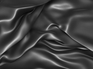 Black dramatic cloth