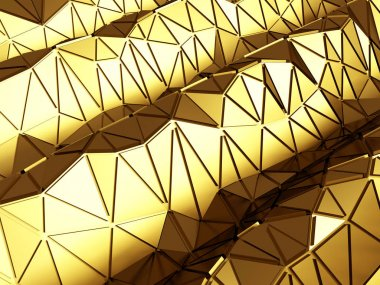 polygonal golden surface