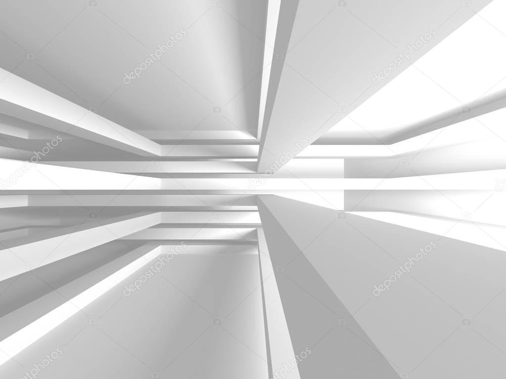 Modern White Architecture design