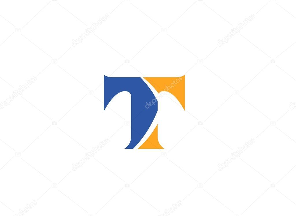 115cbb9a7 Letter T logo icon design template elements — Stock Vector ...