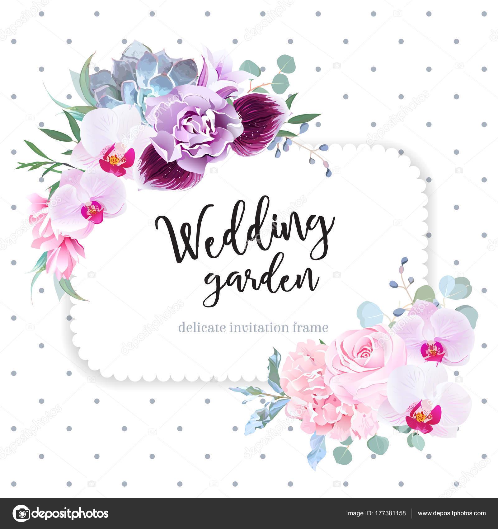 Marco de diseño cuadrado floral vector — Vector de stock ...