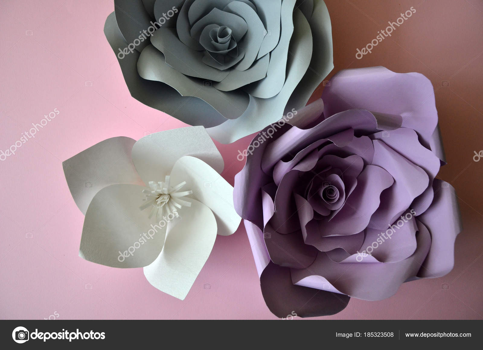 Flowers background colourful handmade paper flowers on pink paper flowers on white background colourful handmade paper flowers on pink background vintage paper flowers ultra violet grey flowers paper background mightylinksfo