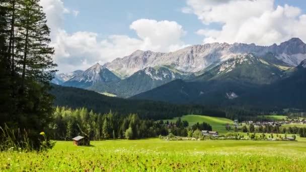 Letní scenář v Rakousku, Alpy