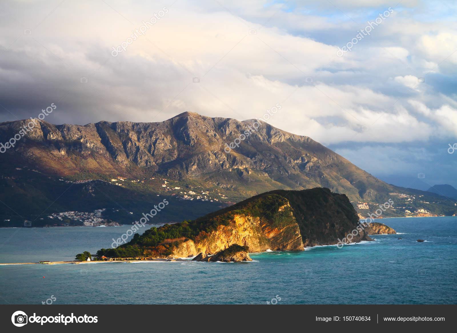 Остров святого николая будва