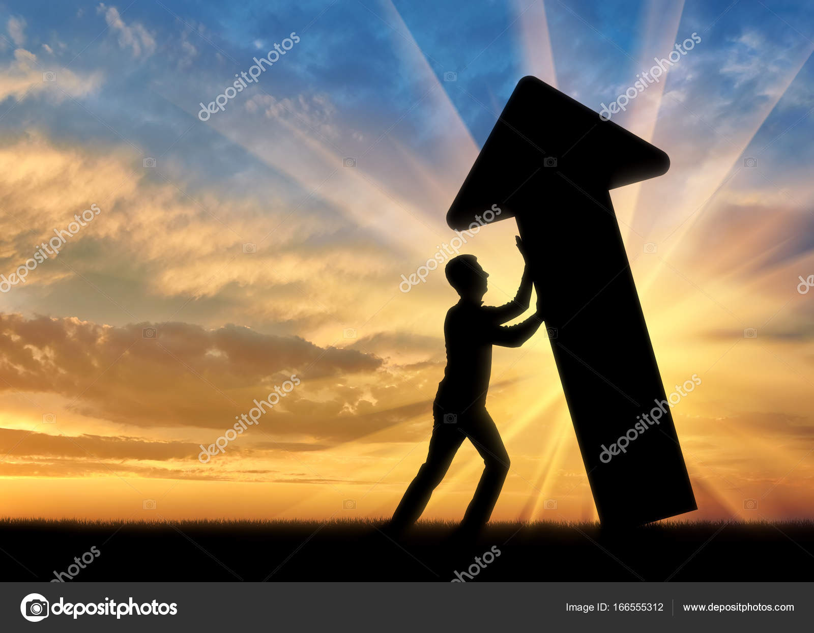 990f6379d326 The concept of overcoming challenges in business — Stock Photo ...