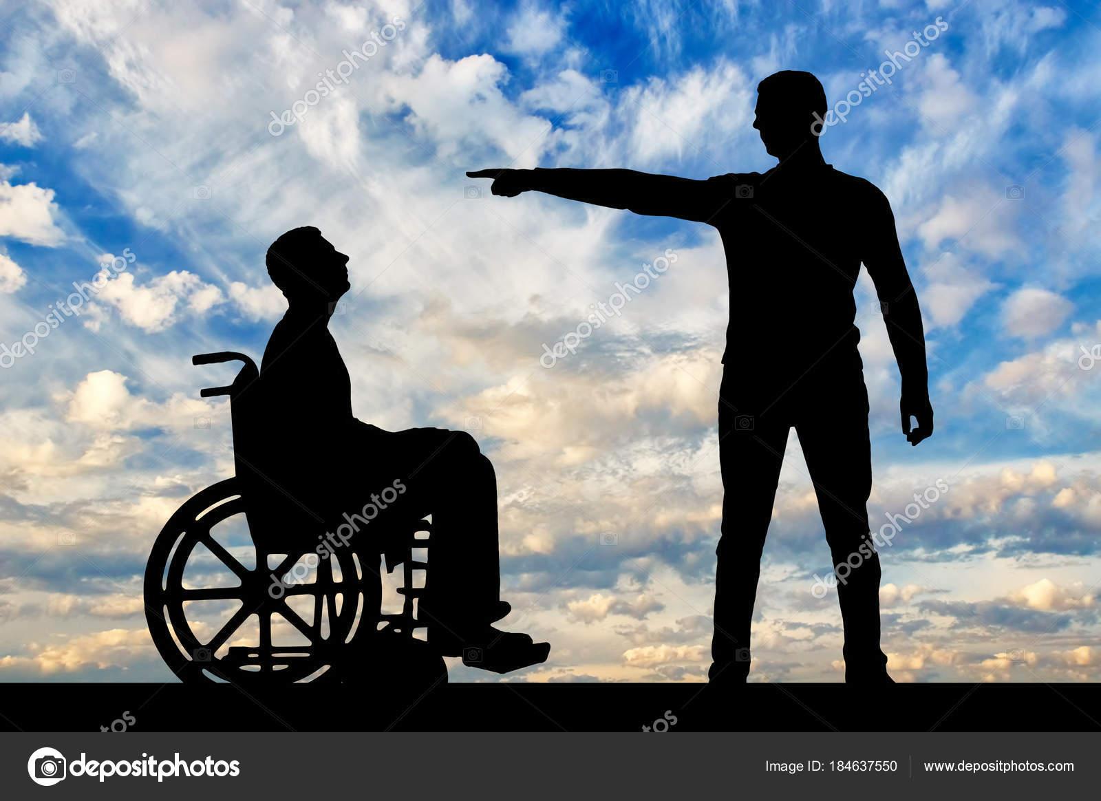 En Silla De La Con Niega Discapacidad Persona A Empleador Ruedas 534LjRAq