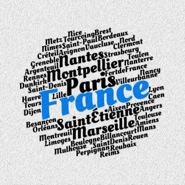 Localities in France