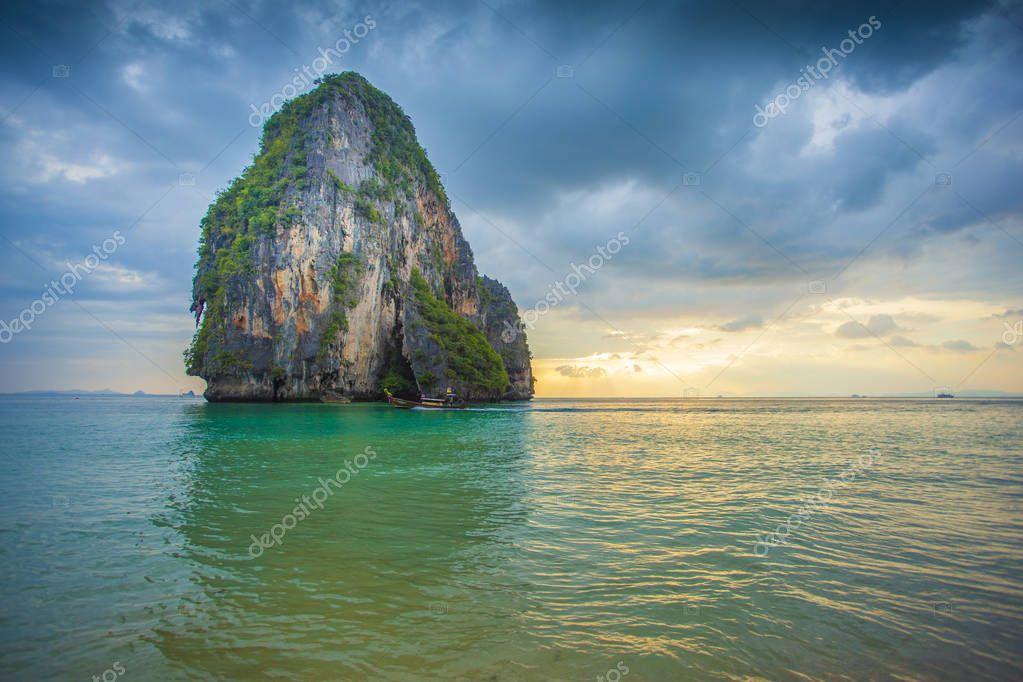 Paradise beach / Railay Bay, Krabi, Thailand