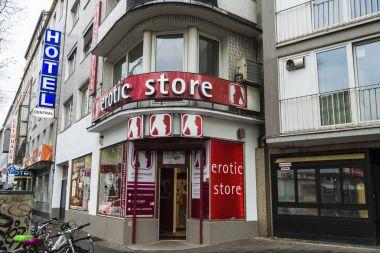 Erotic store in Dusseldorf, Germany