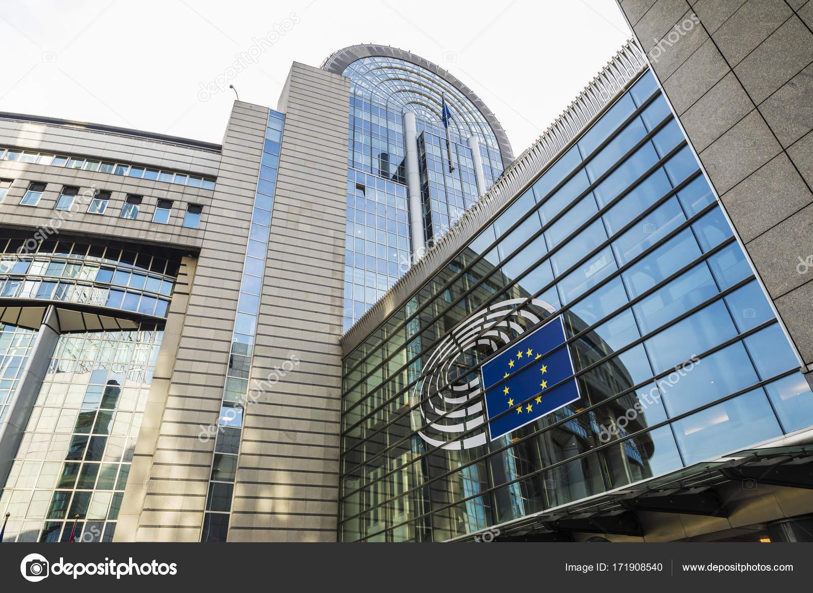 欧州議会のブリュッセル、ベルギ...