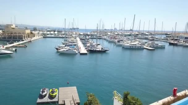 Take off from the room limassol marina villa and view of the yachts, Cyprus