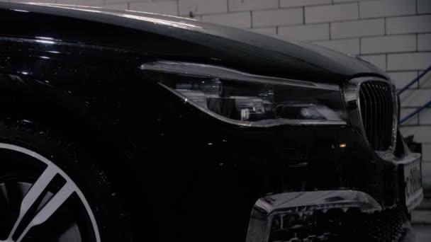 BMW 7 černé myčky s tlakovou podložkou