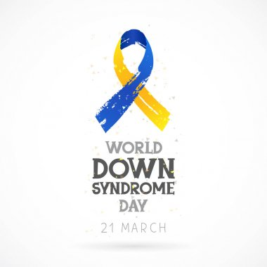 World Down Syndrome Day. 21 March