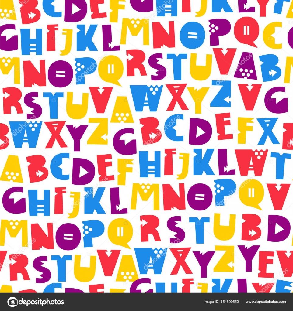 Lettres De L Alphabet Anglais Image Vectorielle Chekat C 154599552
